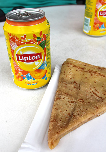 Ice Tea and Crêpe