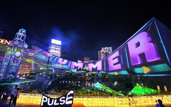 17 香港 閃躍維港 3D光雕匯演