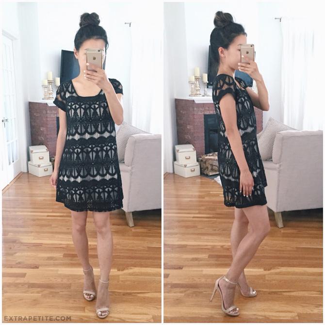 little black lace dress petites_nordstrom anniversary sale