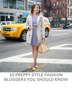 10 Preppy Style Fashion Bloggers You Should Know