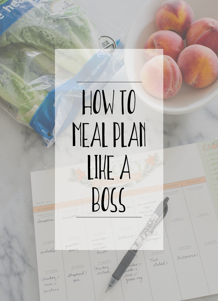 How to Meal Plan Like a Boss