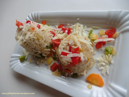 Gemüsereis mit  Parmesan