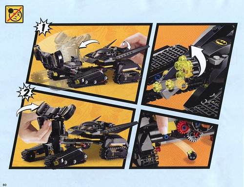 LEGO DC Super Heroes 76055 Batman Killer Croc Sewer Smash ins02