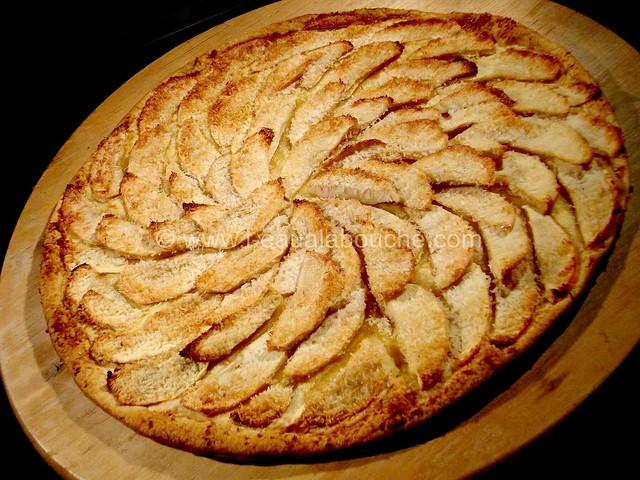 Tarte Fine de Pommes à la Noix de Coco © Ana Luthi Tous droits réservés 07
