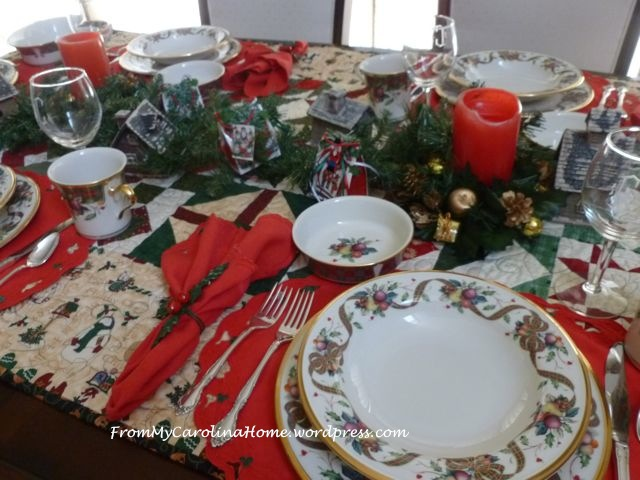 Christmas Table 2014 - 2