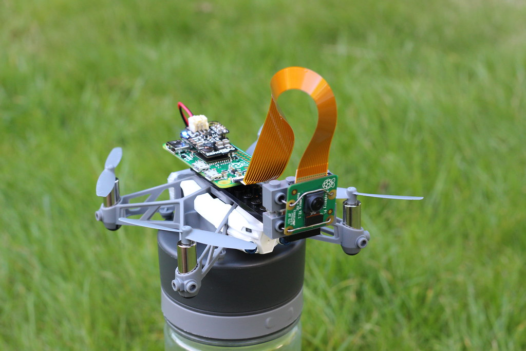 Attaching a raspberry pi camera to a drone