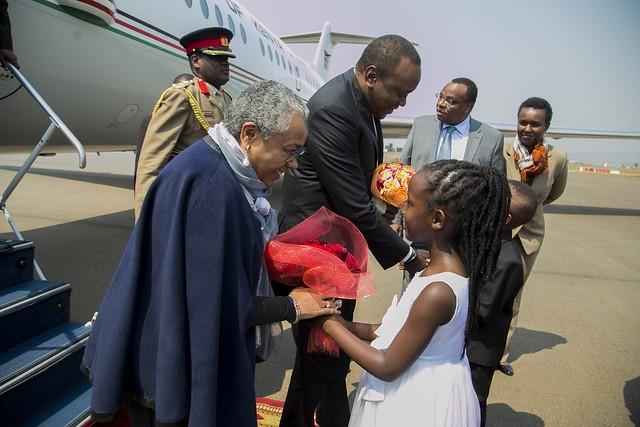 AU Kenya Kenyatta