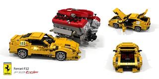 Ferrari F12 TdF (2016) + UCS Tipo F140 FC V12 Engine