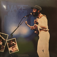 MAZE FEATURING FRANKIE BEVERLY:LIVE IN NEW ORLEANS(JACKET D)
