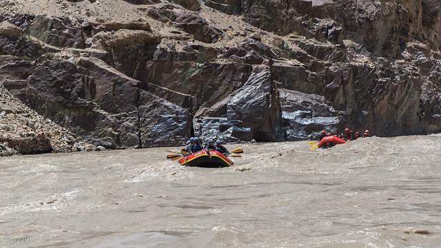 Rafting on the Zanskar