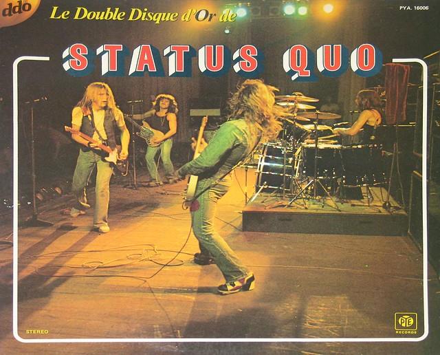 Status Quo Le Double Disque d'Or de Status Quo (ddo)