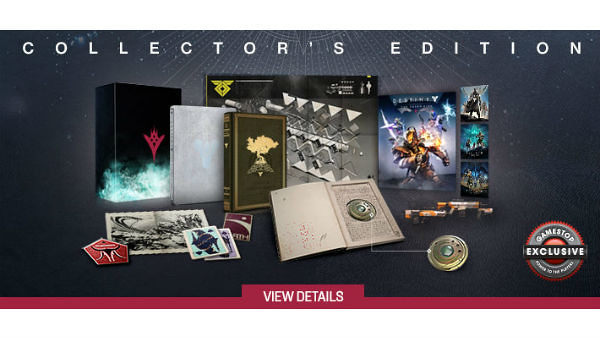 New Destiny Collector's Edition, Includes Rise of Iron DLC