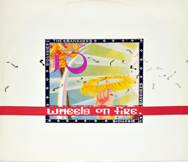 "SIOUXSIE & THE BANSHEES THIS WHEEL'S ON FIRE 12"" MAXI-SINGLE VINYL"