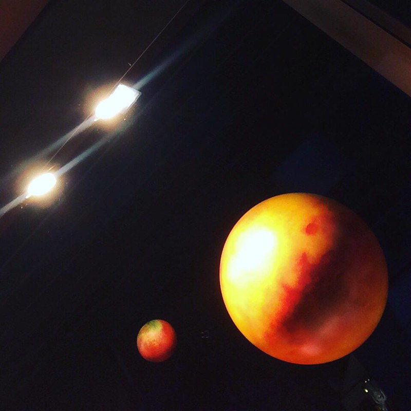 Amandas lilla solsystem