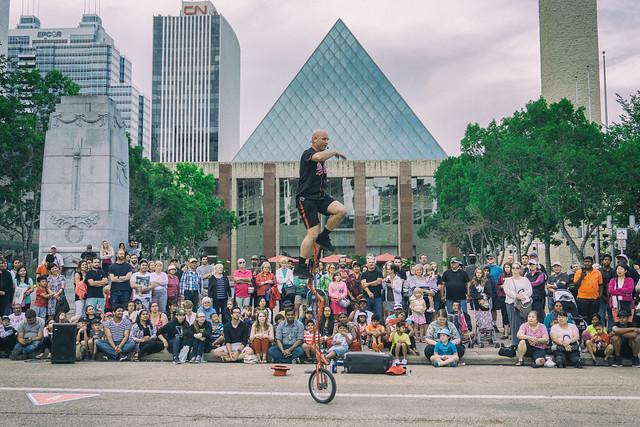 Edmonton International Street Performers Festival 2016