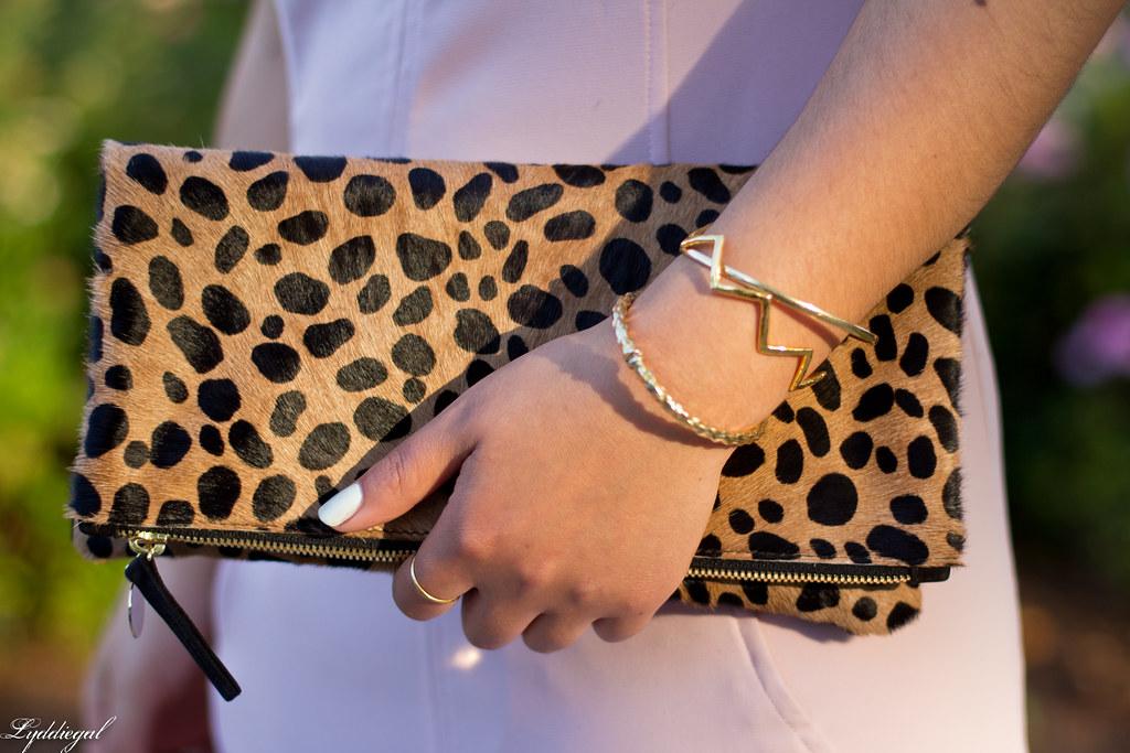 pink sheath dress, clair v leopard clutch, gorjana vista cuff-8.jpg