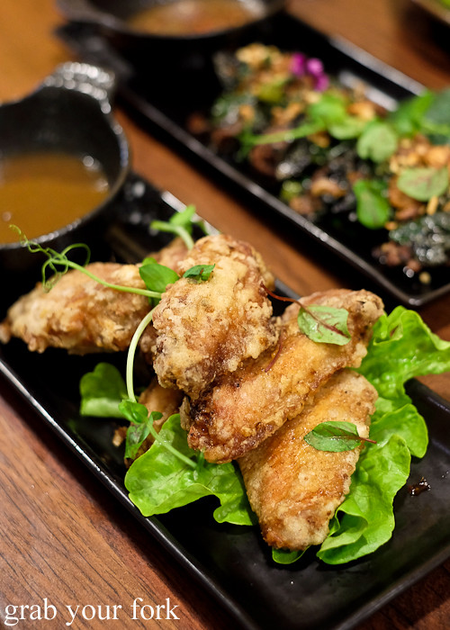 Vietnamese fried chicken at the Angie Hong dinner pop-up at White Taro in Surry Hills Sydney