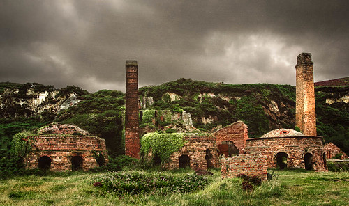 The Old Brickworks, Porth Wen