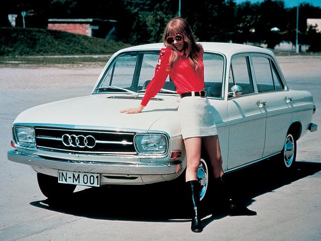Седан Audi 60. 1969 – 1973 годы