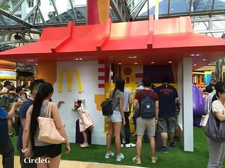 CIRCLEG 麥當勞 香港 太古 遊記 太古城中心 麥當勞玩具樂園 MACDONALD 滑嘟嘟 麥當勞叔叔 (3)