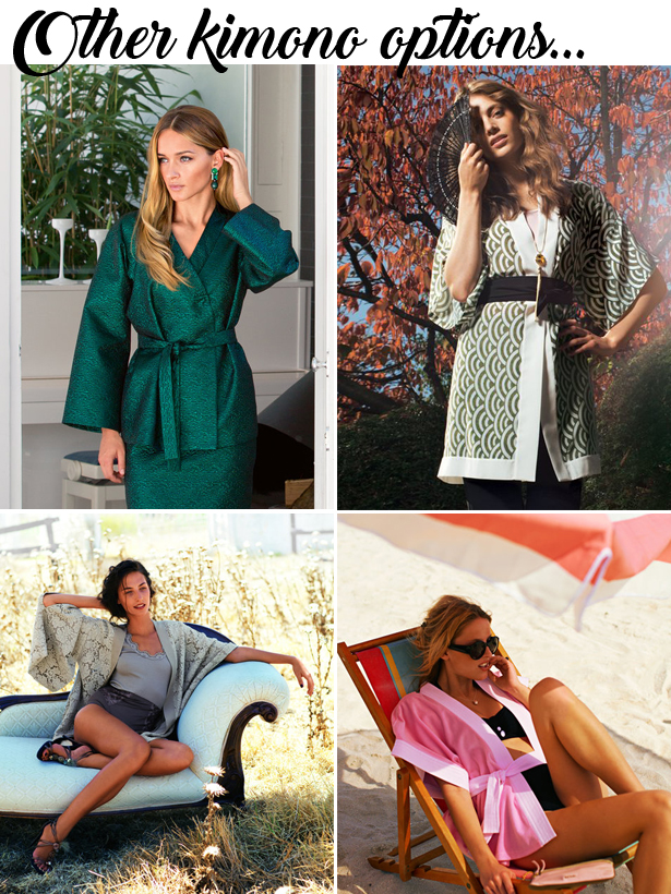 Other Kimono Options