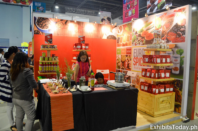 Euro Spice Exhibit Stand