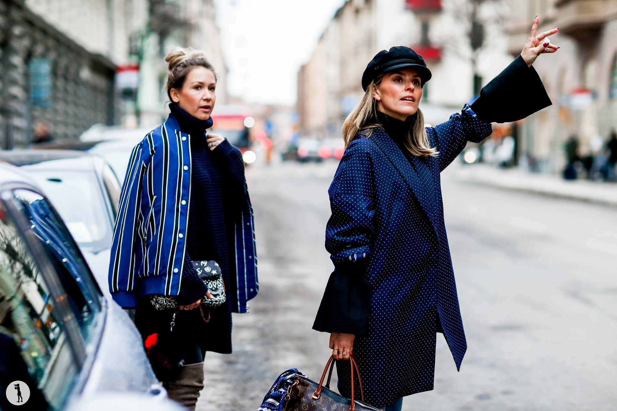 Line Langmo and Janka Polliani - Stockholm Fashion Week FW16-17 (1)