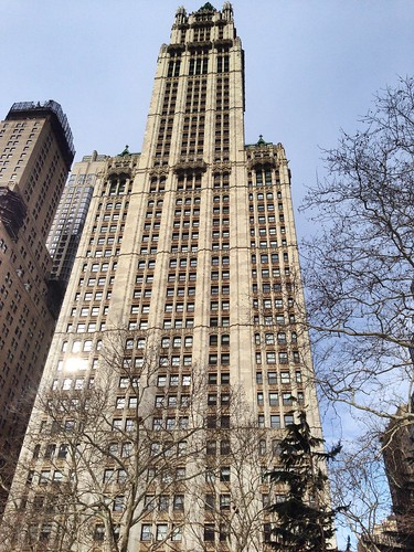 Woolworth Building, NYC. Nueva York