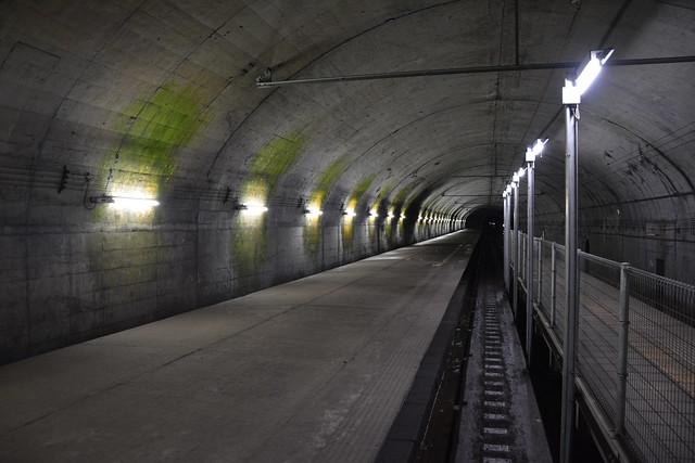 土合駅下りホーム