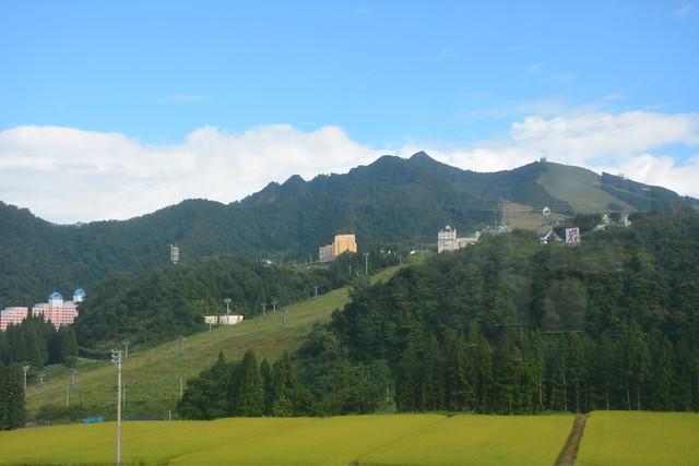 雪国:真夏のスキー場