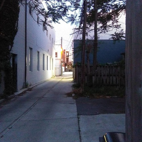 Alley, Dovercourt at Northumberland #toronto #dovercourtvillage #alley #laneway #dovercourtroad #northumberlandstreet