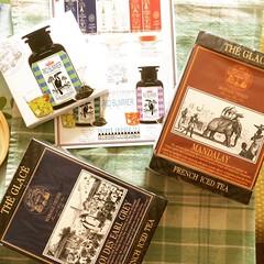 iced tea retail therapy❤︎rio summer(sample), roi des earl grey & mandalay  #mariagefrères #kobe #japan