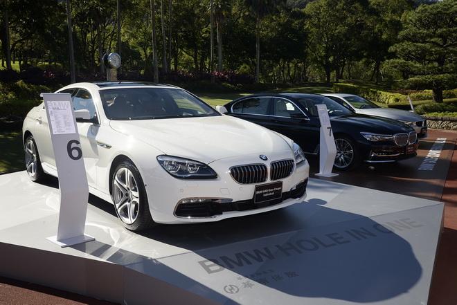 [新聞照片三]一桿進洞幸運大獎BMW 640i Gran Coupe Individual乙輛