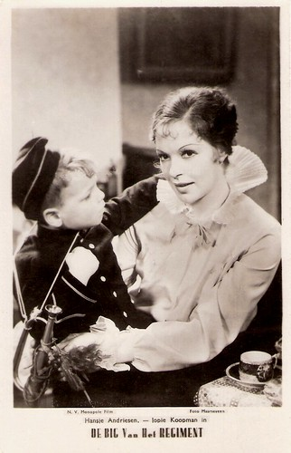 Hansje Andriesen and  Jopie Koopman in De Big van het regiment (1935)