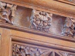 Green man on the pulpit