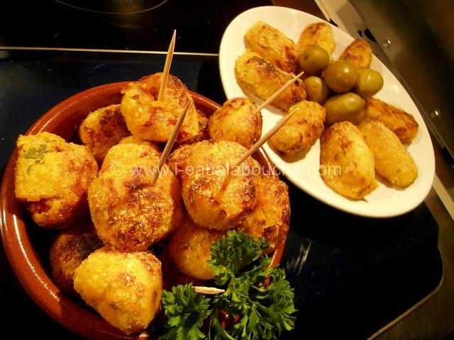Croquettes de Pommes de terre au Chorizo © Ana Luthi Tous droits réservés 020