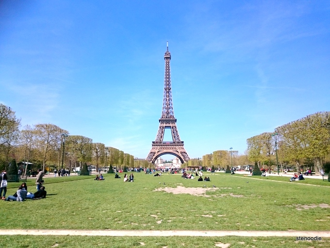 Eiffel Tower picnics