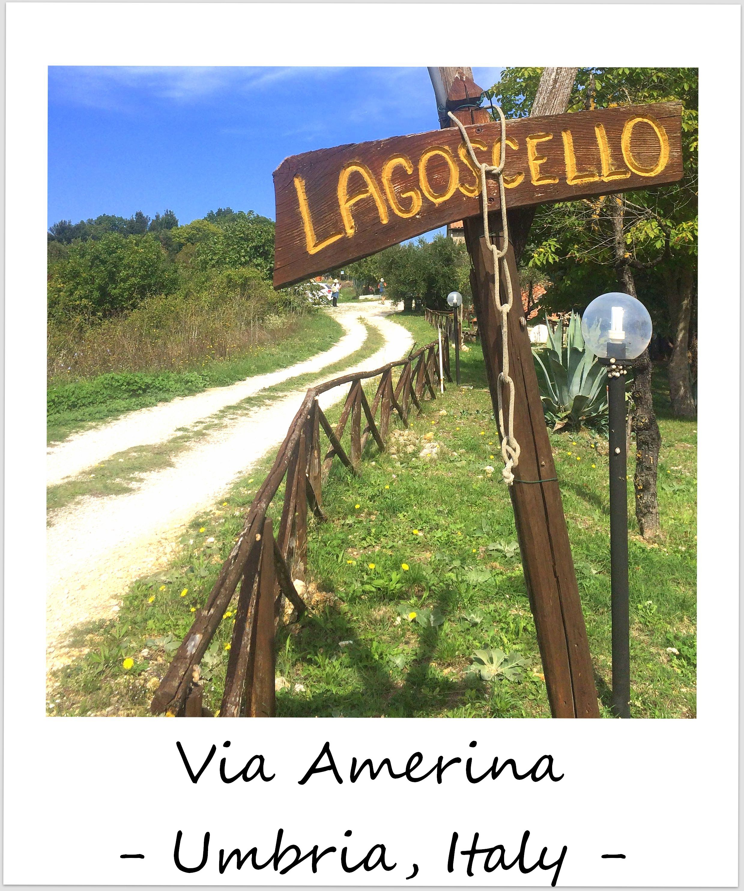 polaroid of the week italy umbria via amerina