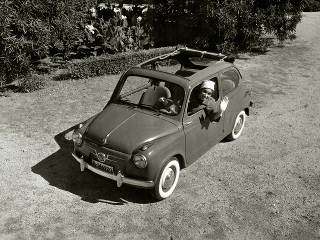 SEAT 600. 1957 – 1963 годы
