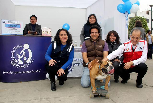 Lanzamiento de la Campaña de Vacunación Antirrábica Canina 2016