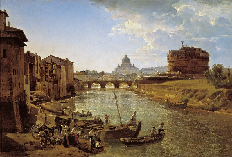 Silvestr Feodosievich Shchedrin - New Rome. The Castle of S.Angelo