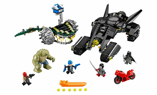 LEGO DC Super Heroes 76055 Batman Killer Croc Sewer Smash 00