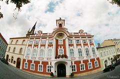 Здание ратуши. Caslav. Czech Republic