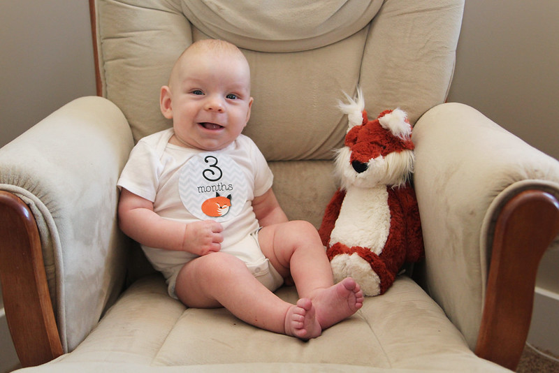 Jonathan is 3 Months Old