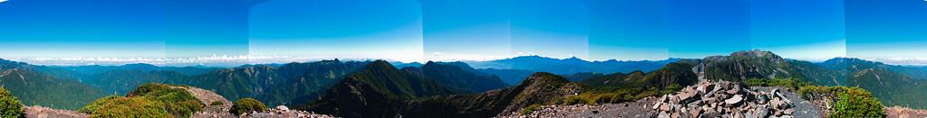 聖稜線360環景圖