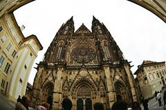 Katedrála svatého Víta. Prague. Czech Republic