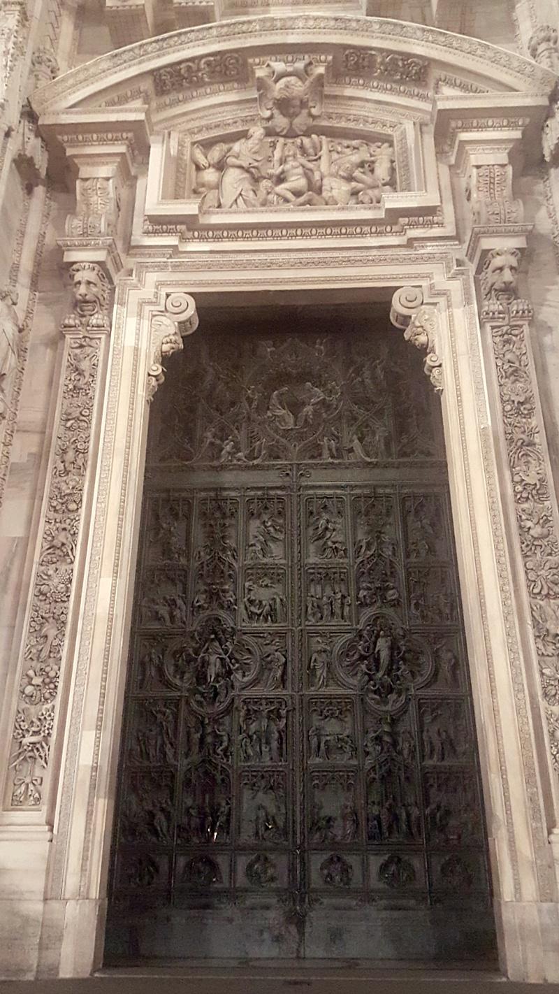 Duomo Milan doors