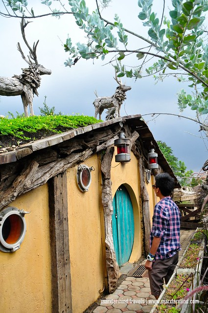 The Hobbit House at Farmhouse Susu Lembang Indonesia