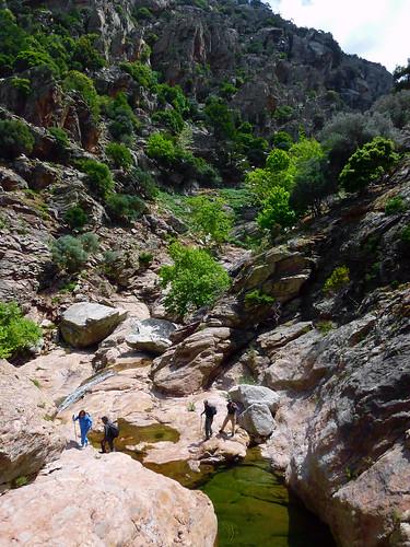 Leaving Dipotama to climb to Ratsos. Βλέπεις πολλές αλλά παλιές φωτογραφίες στο μπλογκ του Συλλόγου: Ο Άγνωστος Τρίπατος Ράτσος στη Χάλαρη