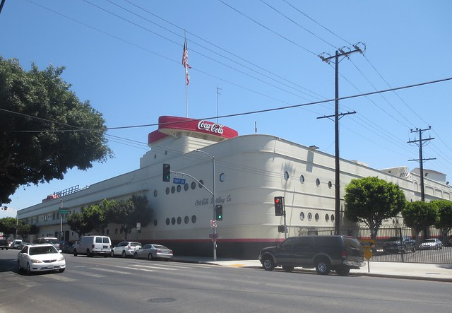 The Coca Cola Building is kitty-corner to the AAFM
